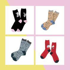 POUDOUDOU  spring collection ---------------------------------------------------- original Jacquard socks1900tax  #poudoudou#pdd17ss