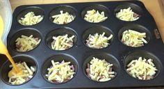 Uova, formaggio, prosciutto, salsiccia, pancetta, cipolla i principali ingredienti per preparare mini omelette. Dotatevi di una teglia per muffin e seguite questi utili suggerimenti: preparerete un piatto da leccarvi i baffi a colazione  Fonte: https://www.youtube.com/channel/UCYvqEiyy1pr5Sel8OtEuoeQ