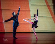Ulyana Lopatkina and Marat Shemiunov performing the Tango from Golden Age at the Kremlin Gala – The Ballet Stars of 21.th Century (27.09.2014).  Photo by Jack Devant