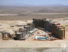 Building a new resort