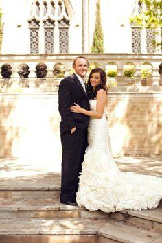 Lovely Nikki and Tyler at Highland Park United Methodist Church! Happy 2 year anniversary!!