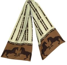 Whistlejacket Horse Silk Scarf - Horse Gifts -  at Horse and Hound Gallery