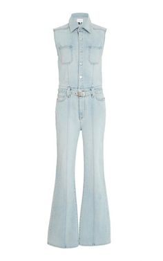 dda984f8f74 Zenith Cotton Belted Jumpsuit by Current Elliott SS19 Jumpsuit