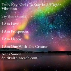 Anna's Daily Key Notes To A Happier You
