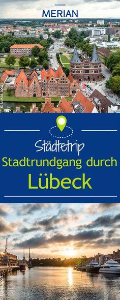 Die Hansestadt Lübeck begeistert viele Besucher. Wir nehmen euch mit auf einen Spaziergang durch die Stadt.