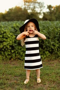 Classic Striped Shift Dress by Toddler Modeling, Classic Outfits, Clothing Company, Mommy And Me, Tween, Shirt Dress, Shirts, Clothes, Dresses