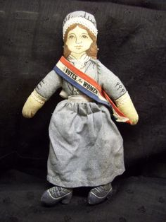 Susan B. Anthony fought for women's right to vote. - you need this doll!