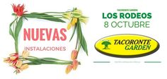 @tacorontegarden @gfedola sinergia, flores y plantas ahora en dos puntos estratégicos de Tacoronte