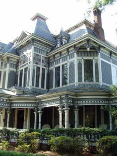 Tour a Beautiful Historic Victorian Home in Newnan, Georgia.