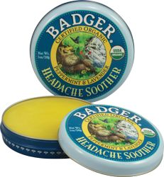 Badger Certified Organic headache relief  #crueltyfree #noanimaltesting #beauty