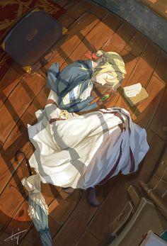 Violet Evergarden, V Otaku Anime, Me Anime, Anime Love, Manga Anime, Violet Evergarden Wallpaper, Violet Evergreen, Violet Garden, Violet Evergarden Anime, Beautiful Anime Girl