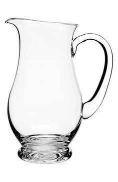 Luigi Bormioli 'Crescendo' Footed Pitcher | Nordstrom - Love the lines of this pitcher - perfect for lemonade, iced drinks or flavored waters!