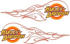 harley davidson flame