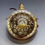 16th Century Gun Powder Flask-Sundial Compass Watch.