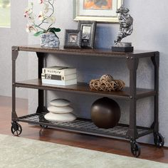 Hokku Designs Starke Console Table & Reviews | Wayfair