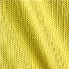 Telio Paola Pique Knit Yellow