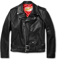 Schott Perfecto Leather Motorcycle Jacket | MR PORTER