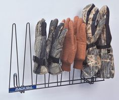 Rack'Em Glove Rack, 4 Pair RACK EM Racks http://www.amazon.com/dp/B001FPMTAI/ref=cm_sw_r_pi_dp_cHJAub0PQS3ZT