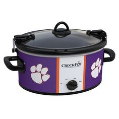 Clemson Tigers Collegiate Crock-Pot® Cook  Carry™ Slow Cooker - Crock-Pot ... I'm sure I could use this~ LC