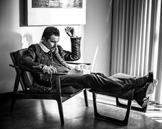 Ethan Hawke by Rainer Hosch. Love the mood and sick jacket!