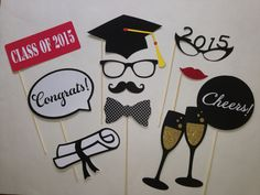Graduation Party Class of 2015 Photobooth Prop by PureSimpleThings