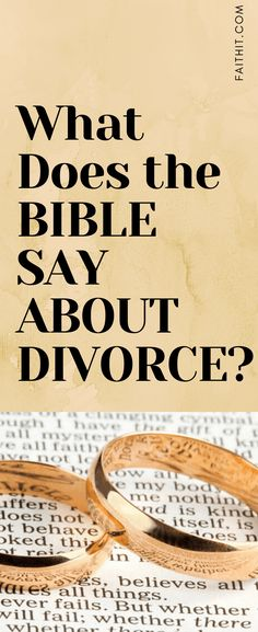 What does the Bible say about divorce? Jesus himself walked this earth and spoke very clear instructions on what is good and righteous. Happy Marriage Tips, Marriage Bible Verses, Biblical Marriage, Marriage Advice, Inspirational Marriage Quotes, Quotes About Divorce, Preparing For Divorce, Christian Divorce, Be Patient Quotes