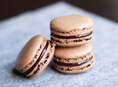 Macarons de Chocolate.
