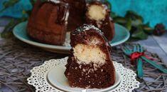 Kókuszos brownie kuglóf recept képpel. Elkészítés és hozzávalók leírása, 1 órás, 6 főre, Karácsony, Normál, Vegetáriánus Paleo, Pudding, Food, Drinks, Drinking, Beverages, Custard Pudding, Essen, Beach Wrap
