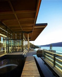 Luxurious Private Home in British Columbia by David Tyrell Architecture