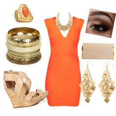 Golden Nite!, created by pamelixus on Polyvore