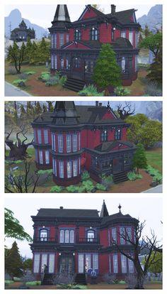 THE SIMS 4 SPEED BUILD - Vampires - Carmilla Manor