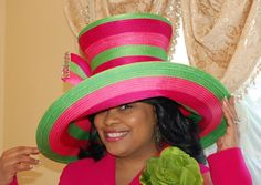 Be confident in Christ. He created you to be beautiful beyond Beverly Hills and Sunset Boulevard.  Silvercrowns Designer Hats