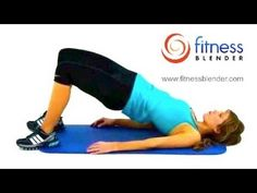 Fitness Blender workouts.  10 minute workout.