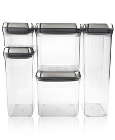For snacks that are sure to last, these innovative pop container are the perfect storage solution. Simply press a button on the lid to activate an airtight seal that protects the food within, keeping