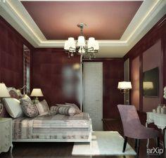 Два варианта для одной спальни - модерн и классика: интерьер, квартира, дом…