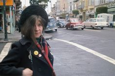 Janis Joplin on Haight Street, 1967-  23 Spectacular Color Photos Of San Francisco In The 1960s