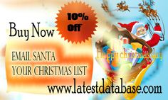 Get 10% off for Christmas holiday #djiboutiemaillists! Welcome to happy Christmas day 10% off email database! http://www.latestdatabase.com/djibouti-email-lists/