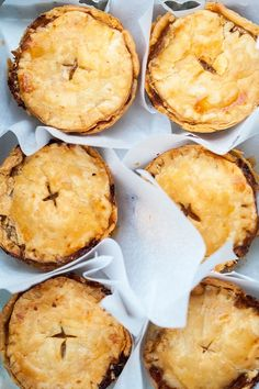 Beef and Guinness Mini Pies for your St. Patrick's Day dinner!