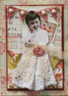atc shabby chic swap by butterflie1, via Flickr