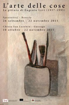 Sabato 10 ottobre inaugurazione mostra dedicata a Eugenio Levi - http://www.gussagonews.it/inaugurazione-mostra-eugenio-levi-ottobre-2015/