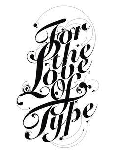 Love of type