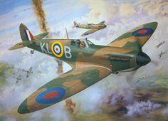 0 Art Roy Cross Spitfire MkI for Airfax Superkit 0A