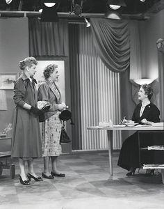Lucille Ball, Vivian Vance and Natalie Schafer