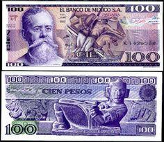 Mexico 100 pesos 1982 #banknotes #papermoney