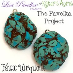 March #PavelkaProject: Faux Turquoise Technique by KatersAcres