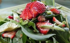 Spinach Strawberry Salad - Dherbs Recipes