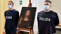 "A 500-Year-Old Stolen Copy Of da Vinci's ""Salvator Mundi"" Painting - Found By Italian Police 