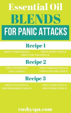 Here are 7 best essential oils for panic attacks and anxiety. Works well if you want to relieve stress, feel calmer and more in control of yourself. Essential Oils For Anxiety, Rose Essential Oil, Doterra Essential Oils, Young Living Essential Oils, Essential Oils For Depression, Yl Oils, Helichrysum Essential Oil, Frankincense Essential Oil, Oils For Energy