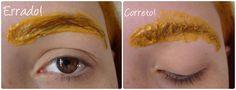 Como pintar as sobrancelhas