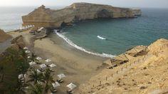 Muskat, in Oman. This resort is amazing! Private beach in Barr Al Jissah: Shangri La's Barr Al Jissah Resort & Spa-Al Husn Shangri La, Resort Spa, Exotic, Culture, Amazing, Beach, Water, People, Travel